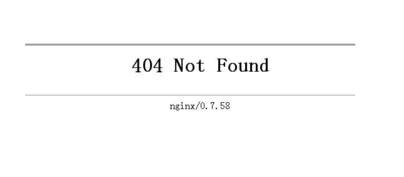 not found 示例1